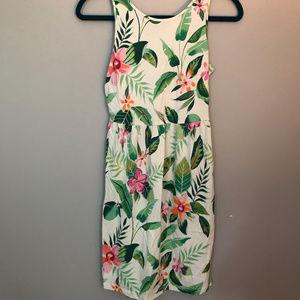 Old Navy Hawaiian print cotton dress - 14
